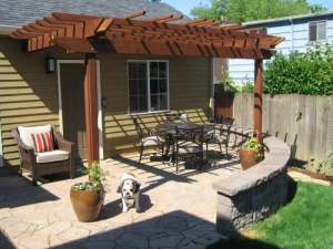Wolfsmith Residence - Pergola & Patio