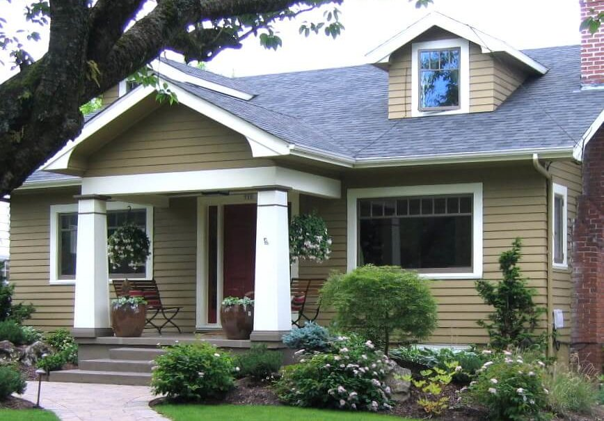 How To Design The Perfect Landscape For A Bungalow Or Craftsman Home Harmony Design Northwest